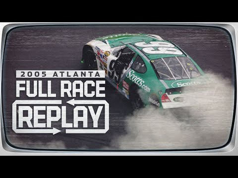 Classic NASCAR Full Race Replay: 2005 Atlanta, Carl Edwards | Cup Series