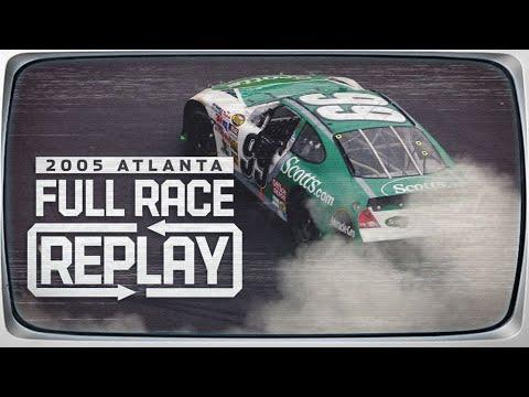 Classic NASCAR Full Race Replay: 2005 Atlanta, Carl Edwards | Cup Series